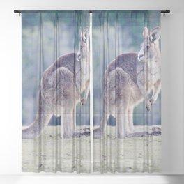 Wallaby Sheer Curtain