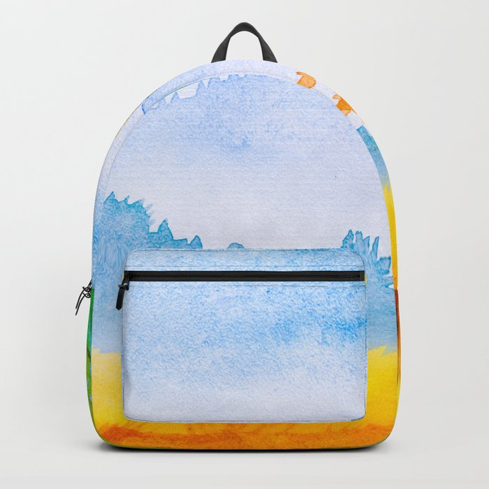 Autumn scenery #11 Backpack