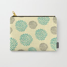 Pastel Yellow Burst Carry-All Pouch
