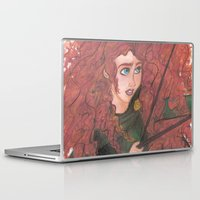 merida Laptop & iPad Skins featuring Merida by carotoki art and love