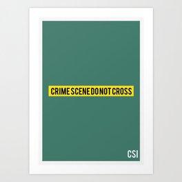 CSI - Minimalist Art Print
