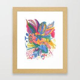 Drawing #110 Framed Art Print