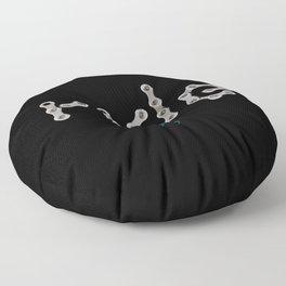 ride - chain Floor Pillow