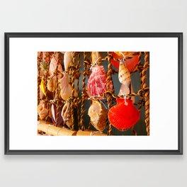Memories from the Sea 01 Framed Art Print
