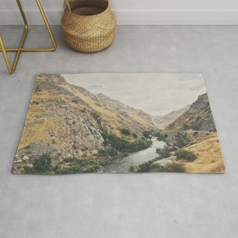the Kern River .. Rug