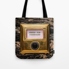 Champers Tote Bag