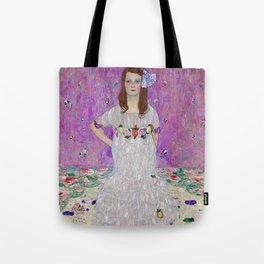 Mada Primavesi Gustav Klimt Painting Tote Bag