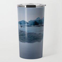 Glaciers Travel Mug