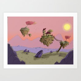 Lost place Art Print