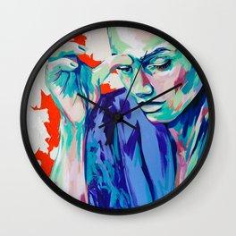 P. Ch. by #carographic Carolyn Mielke Wall Clock