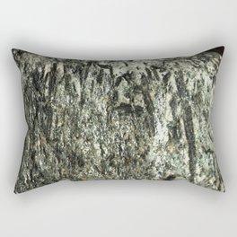Green Fiber Rectangular Pillow