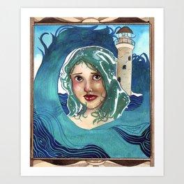 Beacon-Born Art Print