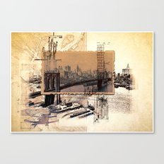 Broklyn Bridge Canvas Print