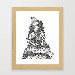 ANAMNESIS Framed Art Print