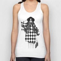 fashion illustration Tank Tops featuring Fashion Illustration by Sibling & Co.