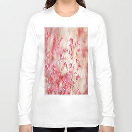 Red tiny flowers Long Sleeve T-shirt