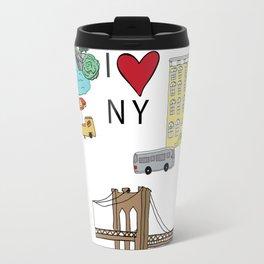 I love New York Travel Mug