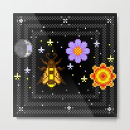 moonbee flowersun Metal Print