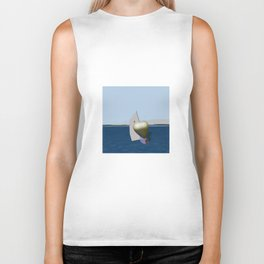 May: a Heart Soaring in the Bay - shoes story Biker Tank