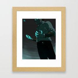 Pacific Rim Kaiju Drift Framed Art Print