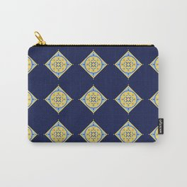 Sicilian Flowers Carry-All Pouch