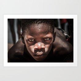 Malawian Kid Art Print