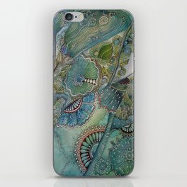 Ocean Botanical iPhone Skin
