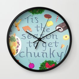 Tis the season to get chunky Wall Clock