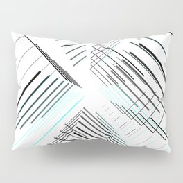 Galaxy Minimal abstract / geometric Pillow Sham