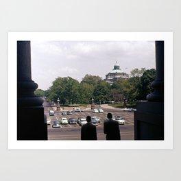 Capitol Hill 1963 Art Print
