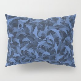 Dolphins camouflage Pillow Sham