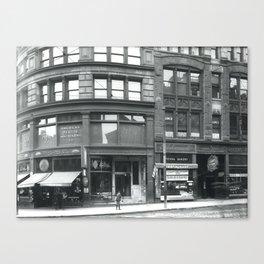 #185-#179 Summer Street Canvas Print