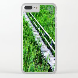 A sea of harmony Clear iPhone Case