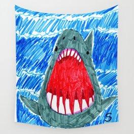 Sharky Wall Tapestry