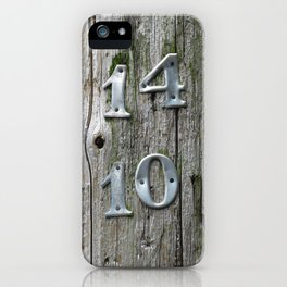14 Over 10 iPhone Case
