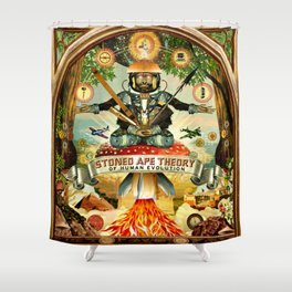Stoned Ape Theory Shower Curtain