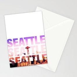 Seattle Landscape Stationery Cards