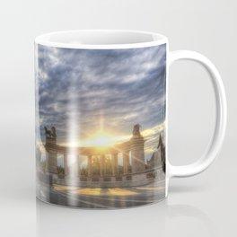 Heroes Square Budapest Sunrise Coffee Mug