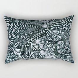 Liquid Skull Rectangular Pillow