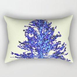 BLUE MOUNTAIN TREE ART Rectangular Pillow
