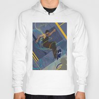 skateboard Hoodies featuring Project Skateboard by Martin Orme