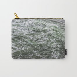 Green sea Carry-All Pouch
