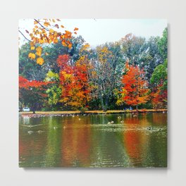 Autumn of Our Contentment Metal Print