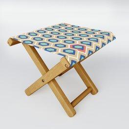 Digital Honeycomb Folding Stool