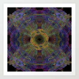 Color Hesh Art Print