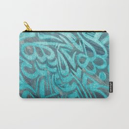 blue Rapping Carry-All Pouch