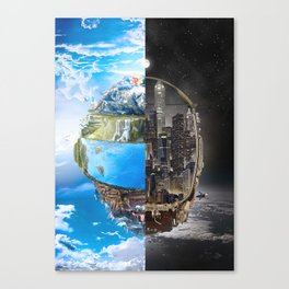 Daft Punk Tribute Canvas Print