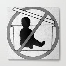 Don't! Metal Print