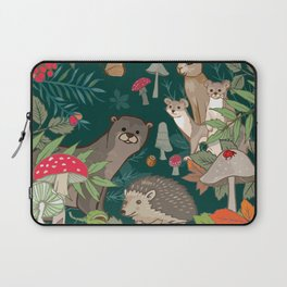 Animals In The Woods Laptop Sleeve