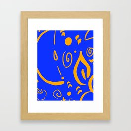 Gold4Teachers Framed Art Print